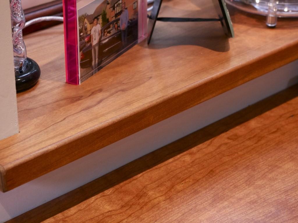 Cherry Wood Home Office Chapman Bespoke Woodwork