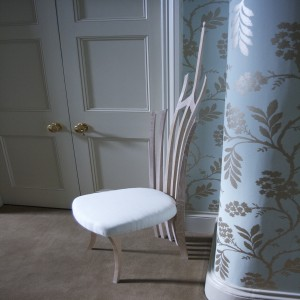 Beautiful hallway chair