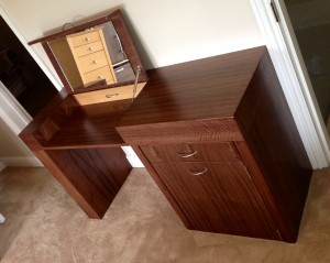Walnut Dressing Table